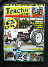 Tractor & Machinery, Sept. 2010 David Brown Special, Restoring a Lanz Bulldog