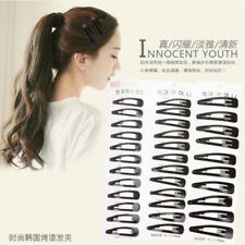 10pcs 7cm Metal Hair Clips Snap Barrette Baby Accessories Small Puppy Bows