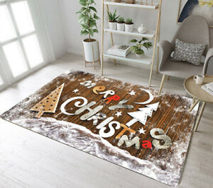 Christmas Cabin Area Rug Bedroom Decor Floor Mat Rustic Bamboo Board on cabin christmas lights, cabin cooking, cabin decorating living room, decor for christmas, cabin crafts, cabin tattoos, cabin hunting, cabin carpet, cabin decorating for thanksgiving,