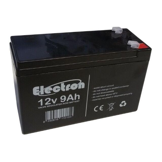 Batterie au plomb rechargeable 12V 9Ah mêmes mesures de 7Ah haute capacité