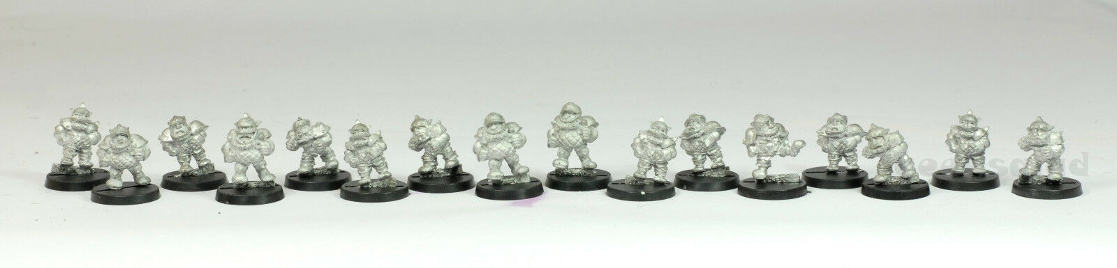 BLOOD BOWL 2nd Edition Grudgebearers Dwarf Giants Classic DWARF TEAM