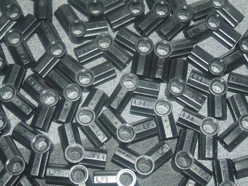 LEGO 10 x Technic Axe /& Broches Connecteur à Angle Noir #5//type numéro 5