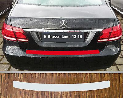 Lackschutzfolie Ladekantenschutz transparent Mercedes E-Klasse Limousine ab 2016