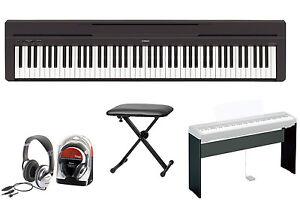 Yamaha-P-45-Digitalpiano-Bundle-II-mit-L-85-Staender-Sitzbank-und-Kopfhoerer