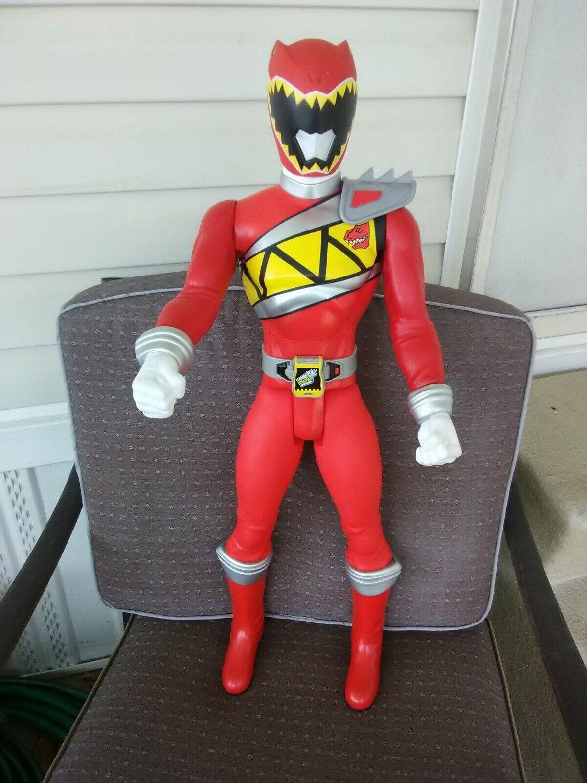 para mayoristas Power Rangers-Dino Cochego-rojo Ranger muñeco muñeco muñeco  estar en gran demanda