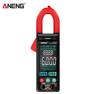 ANENG ST211 Large Color Display Smart Digital Clamp Current Multimeter Red