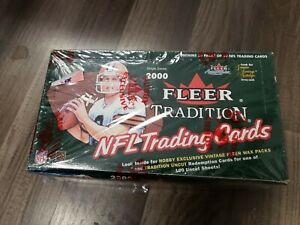 2000-Fleer-Tradition-rookie-Hobby-Pack-Fresh-from-Box-tom-Brady-RC-year-ONE-PACK