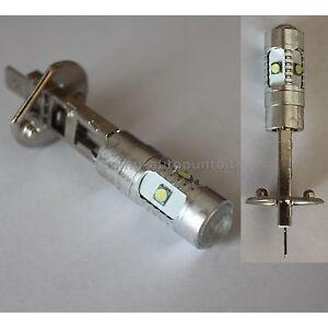 2 Lampadine H1 25w 5 Led Cree 5w Per Fendinebbia Auto Lampade H1