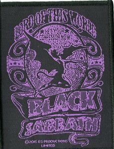 Black Sabbath Lord Of This World Back Patch Standard