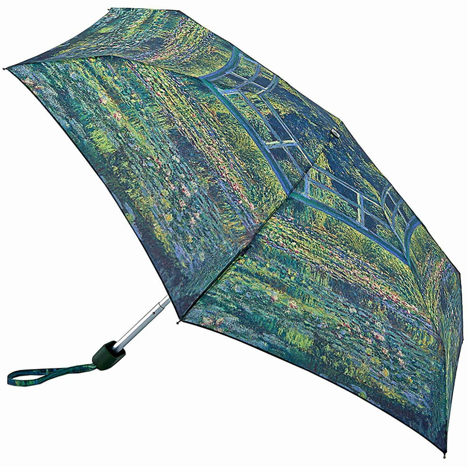 National Gallery by Fulton Tiny-2 Umbrella - The Water-Lily Pond by Claude Monet