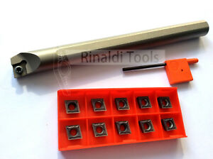 CCMT/GTCC-Drill Rod s16q SCLCR 09 + CCMT 09t304 for Stainless Steel NEW!!!