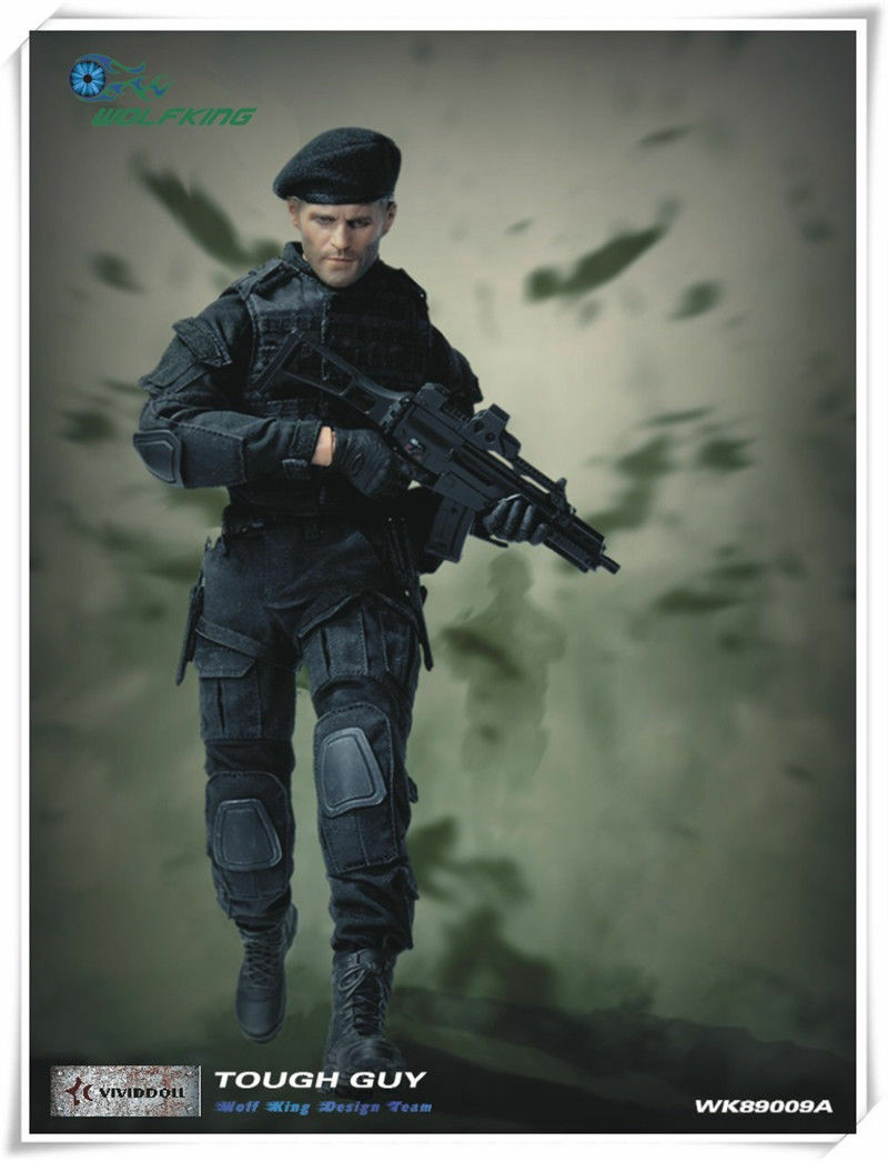 WOLFKING WK89009A 1/6 tough guy Jason Statham suit HOT FIGURE TOYS
