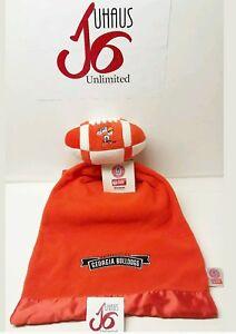 University of Georgia Bulldogs Football Snuggle Ball Baby Blanket..!