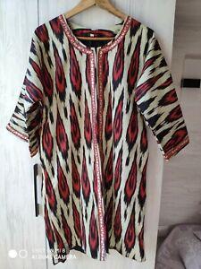 Uzbek-handmade-Adras-women-s-ikat-dress-caftan-Chapan-00015
