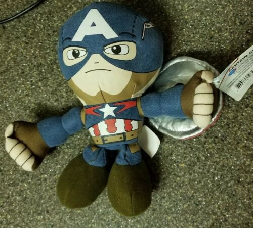 Age of Ultron Captain America Talking Plush Figure NEW NWT Marvel Avengers