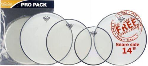 Remo Ambassador Clear Rock Value Pack PP-0740-BA