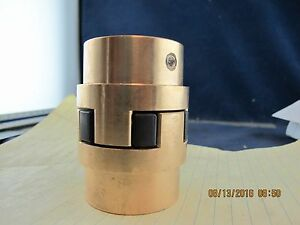 Bronze Shaft Jaw Coupler L100 Lovejoy #41130 Drill To Size [A6S4]