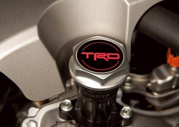 Genuine Toyota TRD Forged Billet Oil Cap PTR35-00110 Genuine OEM