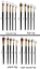 Paint Brush Set 5nos High Quality Nylon Watercolor Canvas Oil Brushes Painting