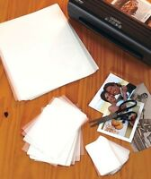 Set Of 100 Laminating Sheets Seals Photos ID's Recipes Signs Pictures Projects