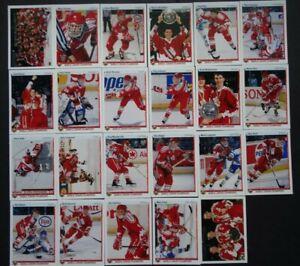 1990-91-Upper-Deck-Canadian-National-Junior-Team-Team-Set-of-23-Hockey-Cards