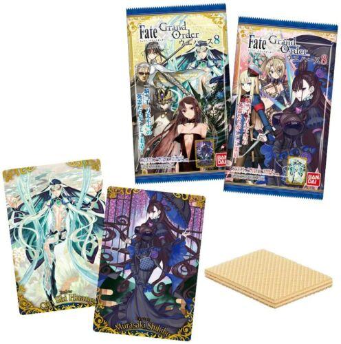 Grand Order Wafer 8 20 pieces Shokugan Wafer JAPAN F//S Pre Bandai Fate