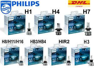 PHILIPS-LED-Car-Headlight-lamps-H7-H4-H1-H8-H11-H16-HB3-HIR2-H3-6500K-200