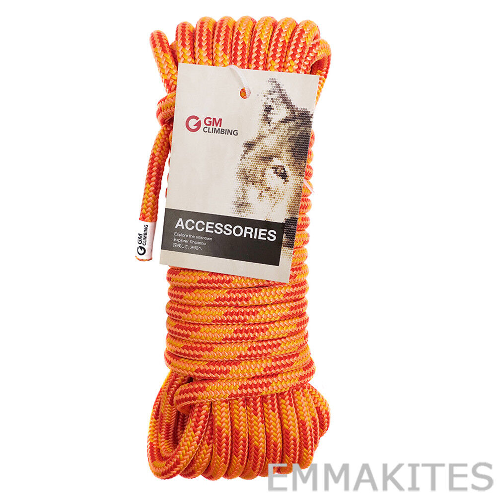 11.5mm Double Braided Polyester Climbing Rigging Rope Line 30kN 9   15   30M Cut