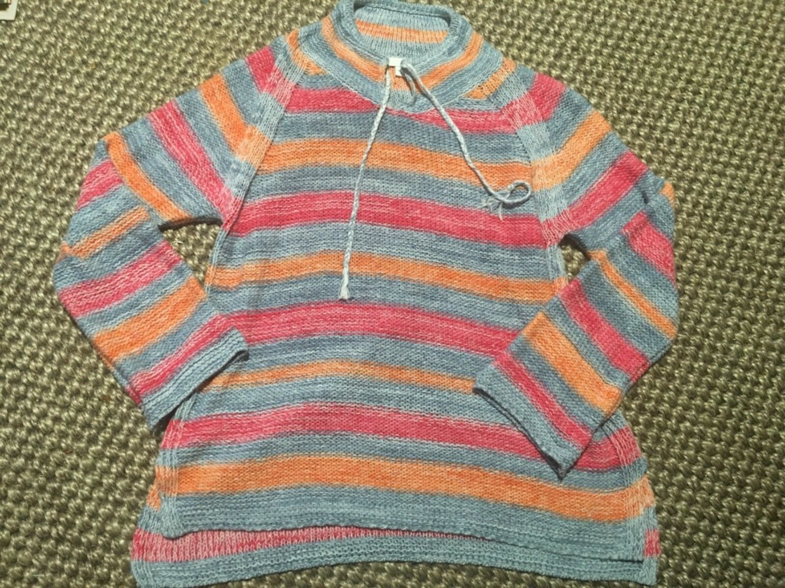 J. Jill hipster multicolor  Medium Weight Sweater very nice