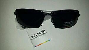 05f19c10dd72 Image is loading Polaroid-PREMIUM-polarized-sunglasses-P4311A-gunmetal-grey