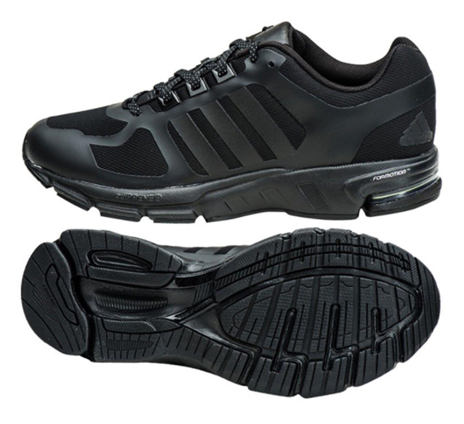 Adidas Zapatos para hombres equipo 10 Zapatillas De Entrenamiento Negro correr tactiles Zapato DA9359