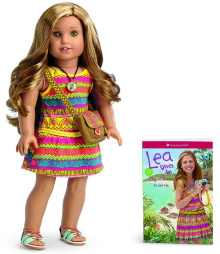 Lea Clark Doll and Book American Girl American Girl Doll of The Year 2016 NEW
