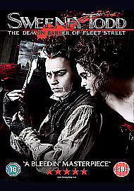 Sweeney-Todd-The-Demon-Barber-of-Fleet-Street-DVD-2-Disc-Set-New-amp-Sealed