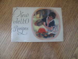 Vintage New Jell-O Recipes Advertising Recipe Cook Book Booklet Jello 1926 Rare!