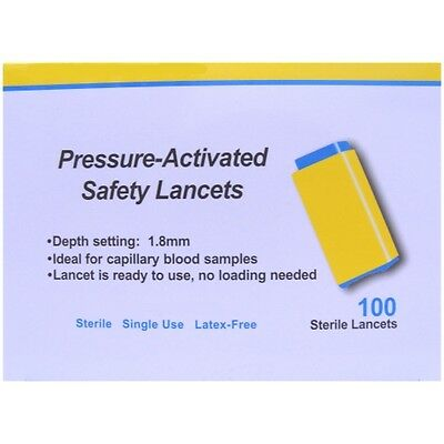 Apollo Pressure-Activated Safety Lancets 28G x 100 5060273240027   eBay