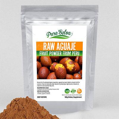100% RAW AGUAJE fruit powder / high vitamin A phytoestrogen diet supplement