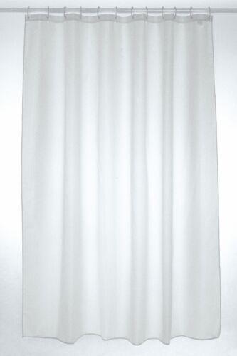 Weißer Schlichter Polyester Duschvorhang 200 x 200cm