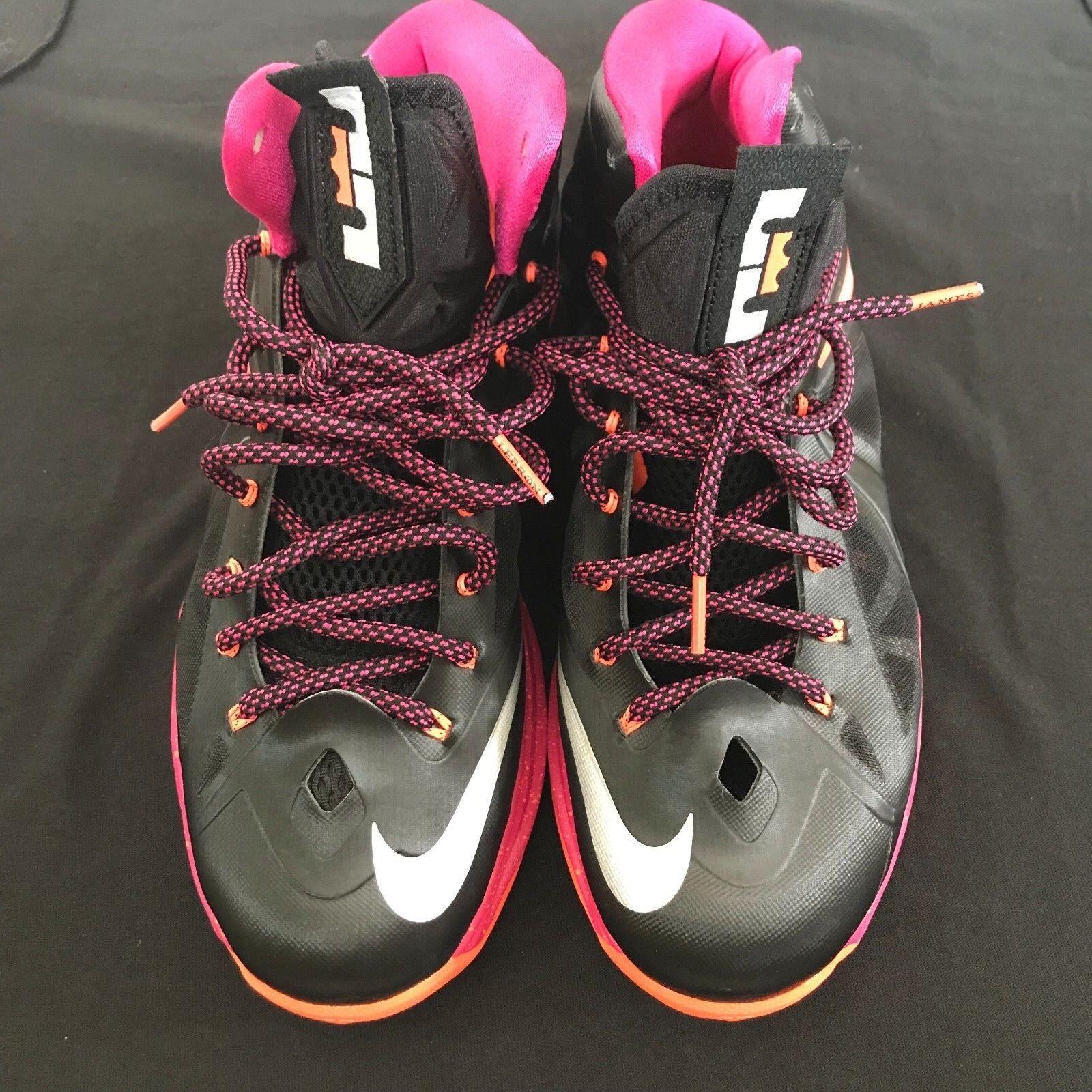 Nike LeBron 10 Floridians Size 10