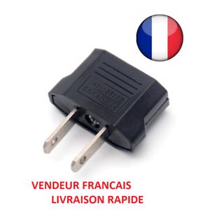 Adaptateur prise secteur FR France BE Belgique EU Europe vers US Japon Canada