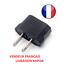 Adaptateur-prise-France-EU-Europe-vers-US-USA-voyage-secteur-Eur-FR-Chine miniatura 1