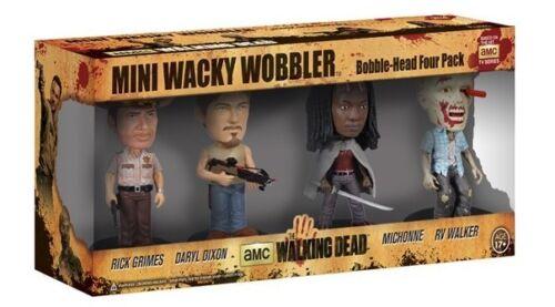 Funko The Walking Dead Mini Wacky Baladeuse Set 4 Pièces Rick Grimes Michonne Daryl