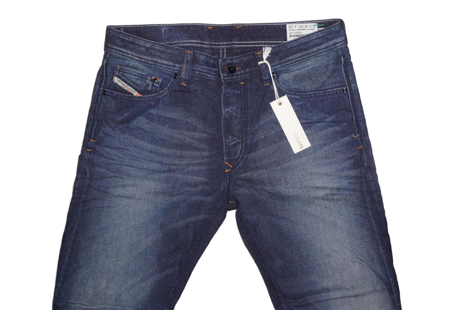 DIESEL Rombee-Xt 0886J Jeans W32 L32 100% AUTENTICO