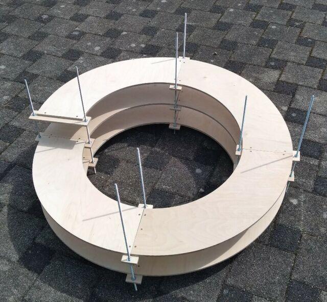 Gleiswendel 2 Ebenen Spur H0 für Roco Line  R2 eingleisig CNC gefertigt neu