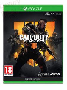 Call-of-Duty-BLACK-Ops-4-Xbox-One-Nuovo-e-Sigillato-UK-PAL-spedizione-gratuita-nel-Regno-Unito