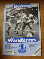 08/09/1984 Bolton Wanderers v Hill City  (No obvious faults)