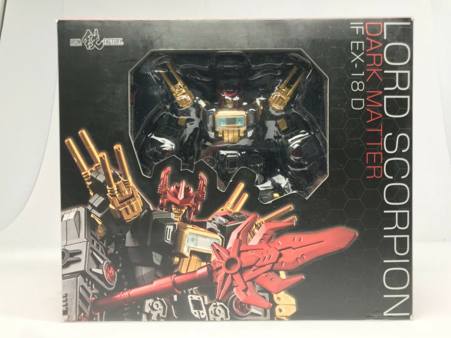 MISB Transformers Iron Factory IF EX-18D Dark Megazarak Scorponok EX18D