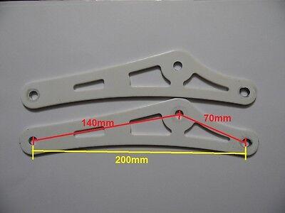 Bike rear shock heavy duty  adaptor for 650-750lbs shock 2 colors .