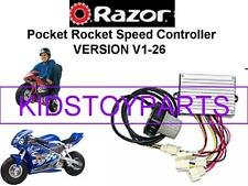 NEW! Razor PR200 POCKET ROCKET V1-26 (Version 1-26) ESC Speed Controller KIT