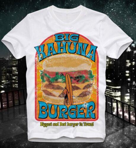 T-shirt Big Kahuna Burger retro vintage tarantino PULP FICTION DUSK TILL DAWN