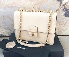 10076c9fbf Dolce   Gabbana Bag Purse Rosalia Blue Black Leather Shoulder ...